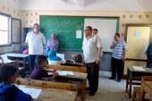 متابعة امتحانات الدور الثاني للمرحلة الابتدائية والإعدادية