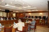 اللواء كمال الدالي محافظ الجيزة خلال اللقاء الاسبوعى مع السادة أعضاء مجلس النواب