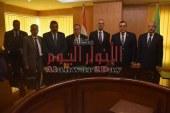 بالصور الهيئة العربية للتصنيع توقع برتوكول بمحافظة الفيوم في الأعمال الفنية والتوريدات