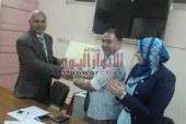 بالصور وكيل الصحه ببنى سويف يكرم قيادات مستشفى الرمد