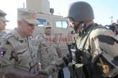 الفريق / محمد فريد يتفقد عناصر القوات المسلحة والشرطة بسيناء …