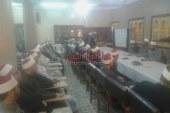 إجتماع مدير مديرية الاوقاف بالأئمة المتميزين بالفيوم