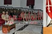 الفريق محمد فريد رئيس أركان حرب القوات المسلحة يتابع مراحل الإعداد والتدريب القتالى لقوات المظلات
