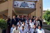 عشماوي وعجلان يتفقدا مطبعة المدارس الفنية بحي شرق شبرا الخيمة