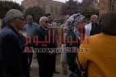 اللواء محمود عشماوي محافظ القليوبية يوجه  رؤساء المدن بضرورة المتابعة الميدانية على اعمال التشجير والتجميل