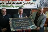 رئيس مدينة شبين القناطر يحضر حفل تكريم مدرسي محو الاميه بمركز ومدينة شبين القناطر