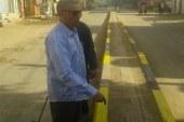بالصور رئيس مدينه سمسطا بنى سويف يتابع اعمال النظافه