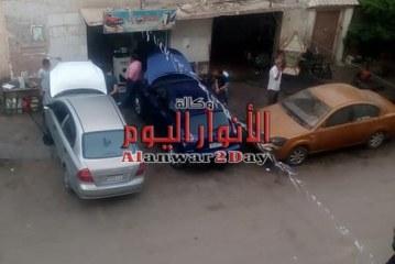 """غضب سكان شارع """"20"""" بإمبابة بسبب ورشة لإصلاح السيارات…صور"""