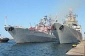 قطع بحرية روسية عسكرية في ضيافة مناء الجزائر العاصمة