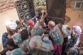 التضامن تبدأ قوافل دعم القرى الاكثر احتياجا من قرية سنهور