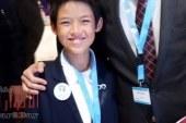 """بعد مشاركته في مؤتمر """"مصر تستطيع بالتعليم"""" الطفل حمد الزناتي: أسعى لنقل ما تعلمته في اليابان من مهارات يدوية إلى أطفال المدارس في صعيد مصر"""
