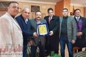 الاتحاد الدولي للصحافة العربية (مكتب الإسكندرية) يكرم قيادات مديرية أمن الاسكندرية بمناسبة عيد الشرطة