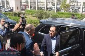 محافظ الفيوم يستقبل رئيس الوزراء المصري