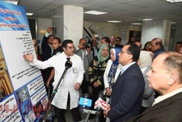 مدلولي بتفقد مستشفى التأمين الصحي.. ويوجه بسرعة الانتهاء من مشروعات تطوير المستشفيات بالمحافظة