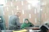 استبعاد موظفة فيديو..مركز الكبد بالزقازيق لاساءتها معاملة المواطنين.