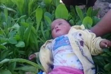 طفلة ستقضى حياتها مصابه بالعمى بسبب أهمال الاطباء