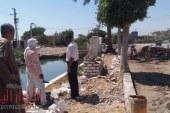 حملة لمعالجة المياه الجوفية بعزبة الوابور بالفيوم