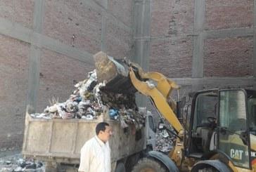 حملة نظافه موسعة اليوم بقيادة دينامو حى الجون ياسر جمعه