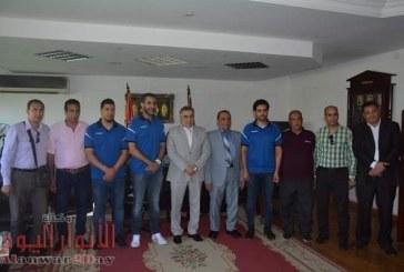منتخب مصر للناشئين لكرة اليد في ضيافة جامعة الفيوم