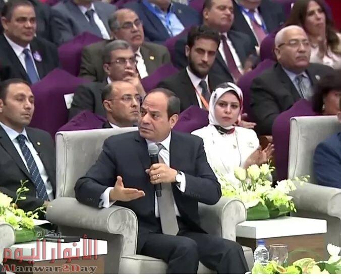 رئيس جامعة الفيوم يشارك بالمؤتمر الوطنى للشباب بدورته الثامنة
