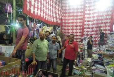 """تحت رعاية """"محافظ الجيزة"""" إفتتاح المعرض السنوى لمستلزمات المدارس بــإمبــابــة"""