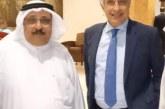 محمد العنزي يهنئ الاعلامي وائل الابراشي