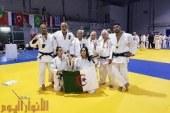 الجزائرية  إيناس عبيد تنتزع الذهبية في  منازلة الفردي (اكابر)  لمنافسات كأس فرنسا   للكاراتي