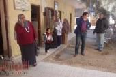 بالصور مديرة صحة ابشواى : مرور مفاجئ  على الوحدة الصحية بالنصارية