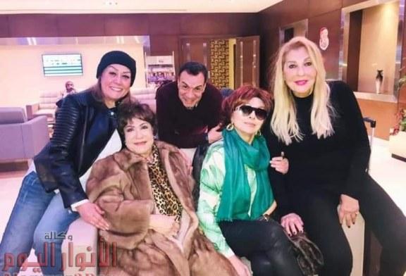 ابطال مسلسل نساء من ذهب يطير الى بيروت