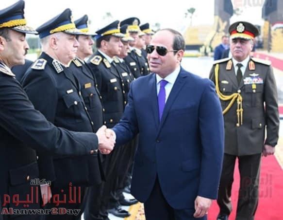 إحتفالات عيد الشرطة ٦٨ في ستاد القاهرة وأكاديمية الشرطة
