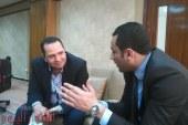 """النائب أحمد على: يلتقي """"مدير هيئة الابنية التعليمية"""" لإنشاء مجمع مدارس بالدائرة"""
