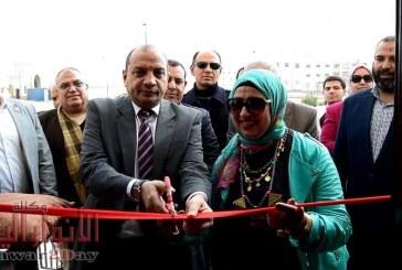 رئيس جامعة بني سويف يفتتح مبنى الكيمياء بكلية العلوم بجامعة بنى سويف