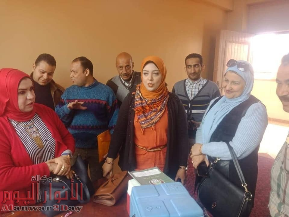 صحة الفيوم تعلن عن الإنتهاء من حملة الحصبة بتطعيم 602434 طفل