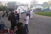 مطار مرسى علم يستقبل طائرة العالقين في فرانكفورت: تقل 141 مصريًا وطفلان