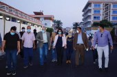 محافظ دمياط تجرى جولة ميدانية بمدينة رأس البر وتتابع الأعمال الجارية بسوقى النيل الحضارى و ٥١