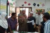 عبد المجيد عوده وكيل الوزارة بالجيزة : يتفقد لجان إمتحانات الثانوية الازهرية الدور الثاني