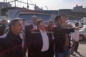 سكرتير عام محافظة القليوبية ورئيس مجلس المدينة يتفقدون الموقف الجديد