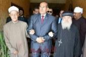 محافظ سوهاج يهنئ البابا تواضروس وجميع الطوائف المسيحية فى مصر بمناسبة عيد الميلاد المجيد