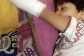 """الجيزة توضح حقيقة إصابة طفل """"أرض اللواء"""": السلم لايوجد به خلل و إهمال الام السبب!!!"""