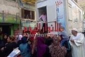 """بالصور…إنطلاق حملة """"حلل وإطمن"""" ضد فيروس سي بــإمبابة"""