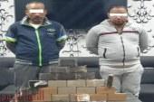 القبض علي شخصين بحوزتهما 30 كيلو حشيش بأوسيم