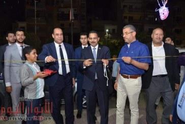صور.. رشاد يفتتح عددا من معارض السلع الغذائية والملابس الجاهزة بالفيوم
