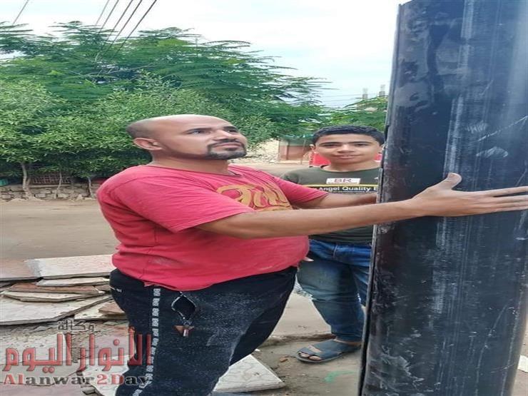أبو فارس يبتكر طريقة للقضاء على حوادث الصعق من أعمدة الكهرباء