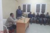 ندوة توعية صحية عن الفيروسات الكبدية بمركز شباب ابو جنشوا