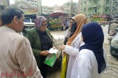 وكيل وزارة الصحة بالفيوم فى جولات بقرى ابشواى للتأكد من تطعيم الأطفال المستهدفين بحملة شلل الأطفال