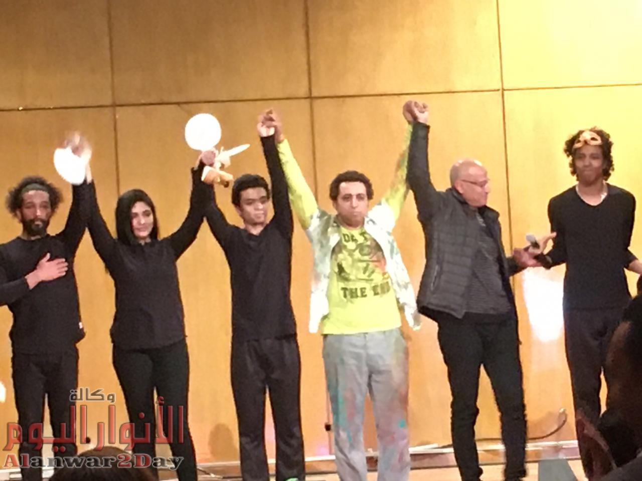"""ناصر عبد الحفيظ و يارا حامد على الثقافية للتحدث عن رائعة """"وجــــوه"""""""