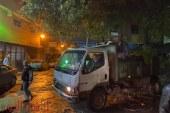 """""""شباب إمبابة"""" يدشنون حملة """"ساعدوهم"""" لمواجهة أثار الأمطار"""