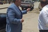 خلال ثالث أيام العيد…نائب محافظ الجيزة يتفقد طريق المنصورية بكرداسة