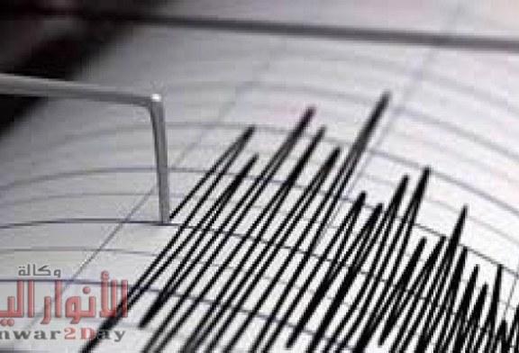 زلزال قوى يضرب البحر الأبيض المتوسط